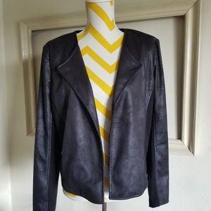 NWT XOXO black blazer  large